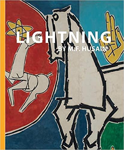 Lightning by M F Husain
