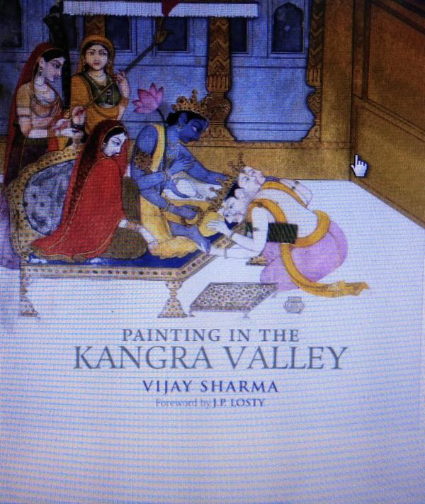 Painting in the Kangra Valley (Hardback)