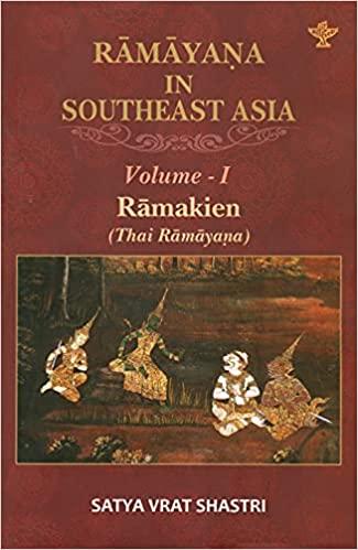 Ramayana in Southeast Asia Volume-1 Ramakien (Thai…