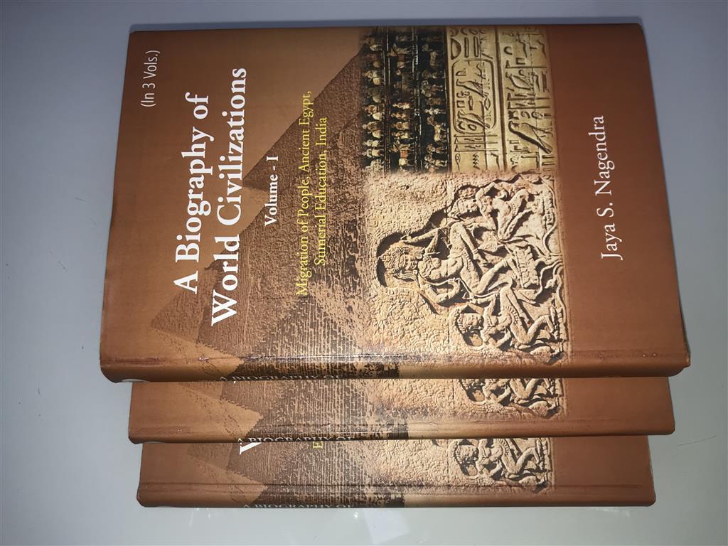 A Biography Of World Civilizations (3 Vols)