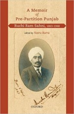 A Memoir of Pre-Partition Punjab: Ruchi Ram Sahni,…