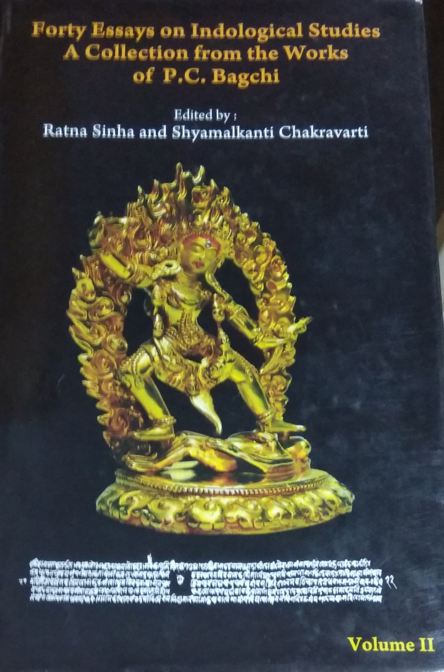 Forty Essays on Indological Studies: A Collection …
