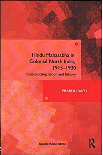 Hindu Mahasabha in Colonial North India, 1915-1930…