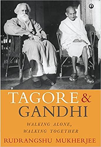 Tagore & Gandhi Walking Alone, Walking Together