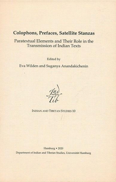 Colophons, Prefaces, Satellite Stanzas: Paratextua…