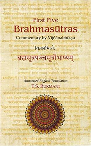 First Five Brahmasutras (Vijnanabhikshu Brahmasuta…