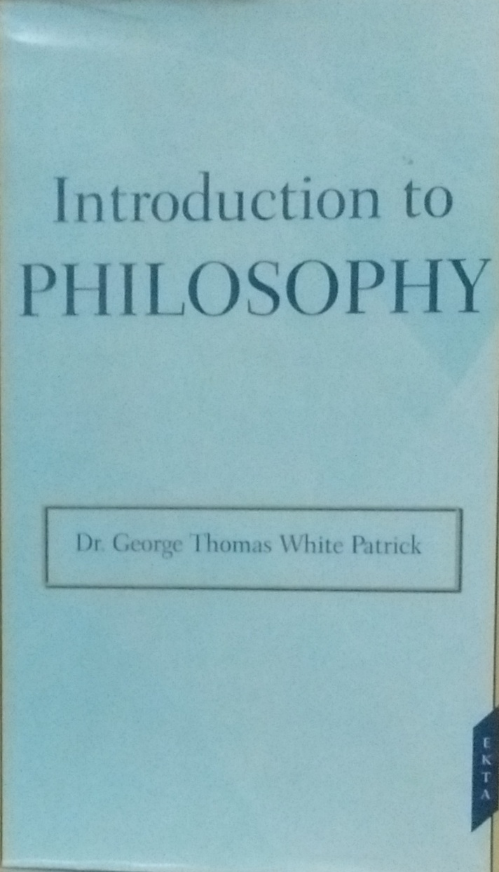 Introduction to Philosophy (Reprint)