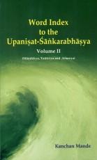 Word Index to the Upanisad-Sankarabhasya Volume II…