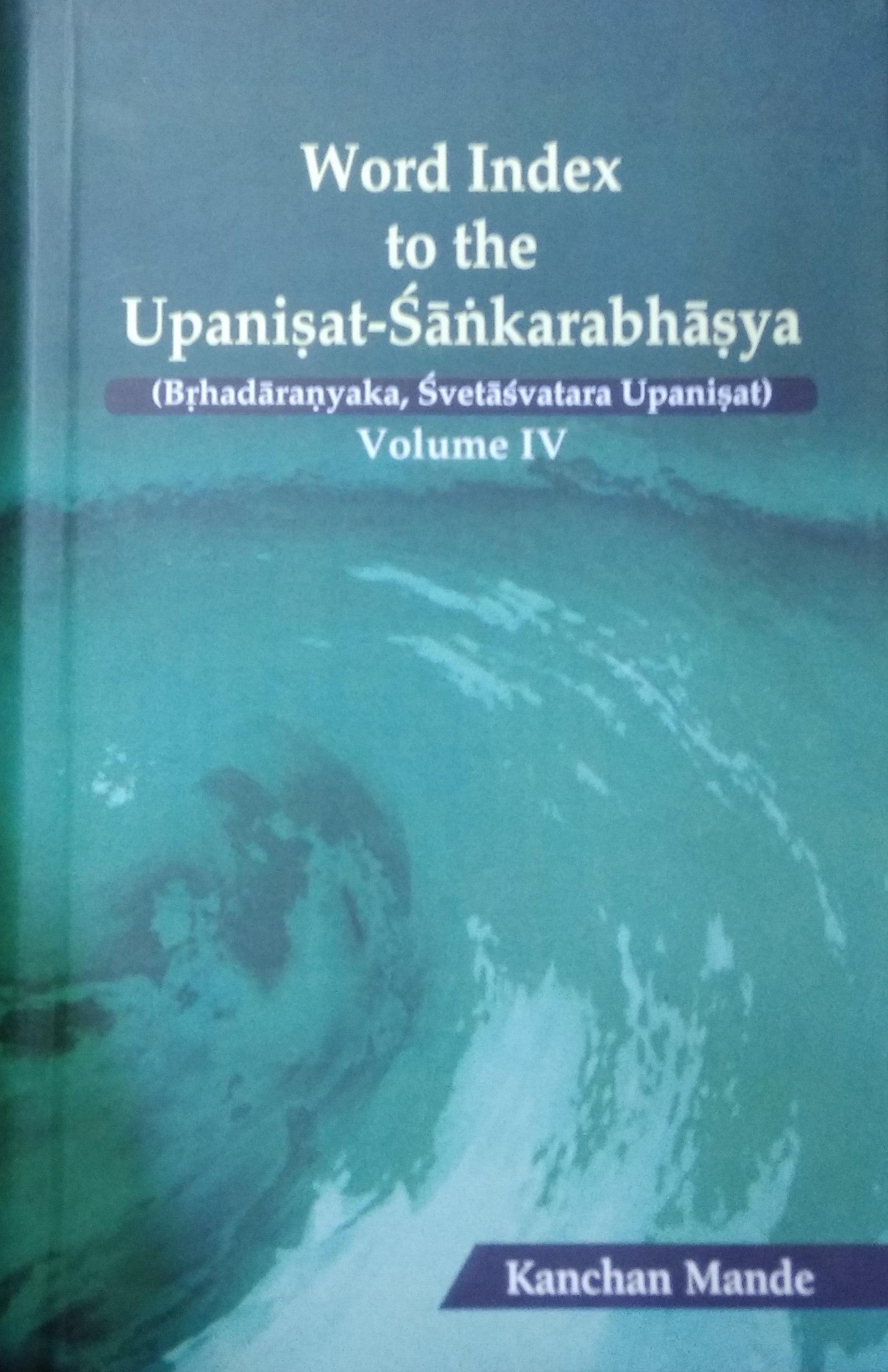 Word Index to the Upanisat-Sankarabhasya (Brhadara…