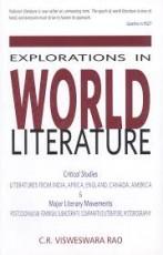 Explorations in World Literature: Critical Studies…