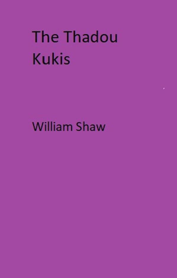 The Thadou Kukis