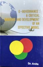 E-Governance: A Critical Analysis and Development …