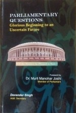 Parliamentary Questions Glorious Beginning to an U…