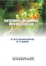 Biotechnology And Genomics VIS-À-VIS Patent Law: L…
