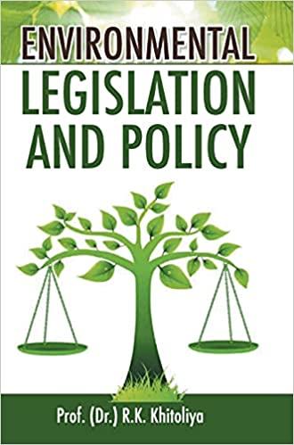 Environmental Legislation and Policy