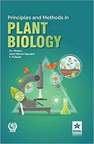 Principles and Methods In Plant Biology (Hardback)