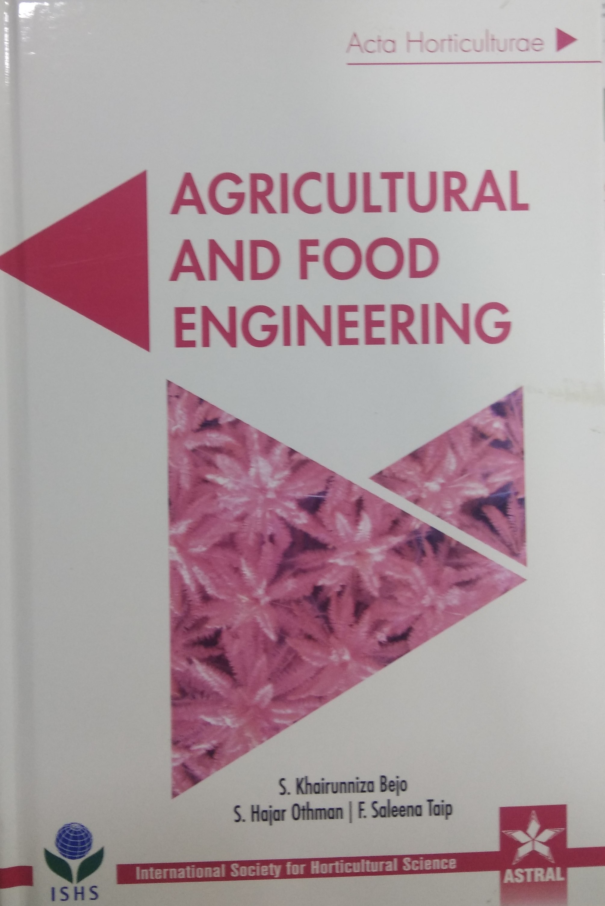 Agricultural and Food Engineering (Acta Horticultu…