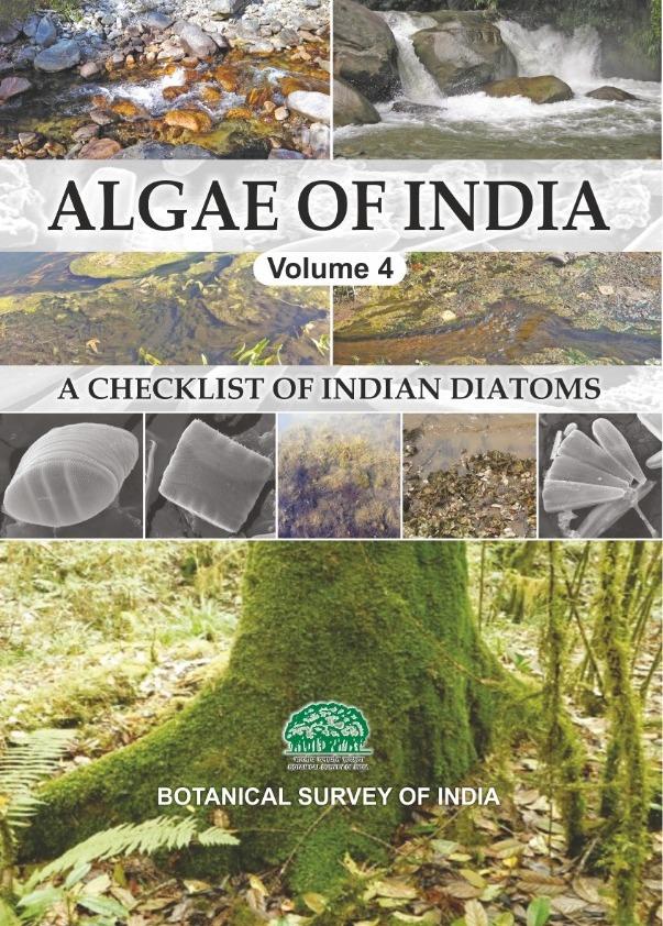 Algae of India Vol 4 A Checklist of Indian Diatoms