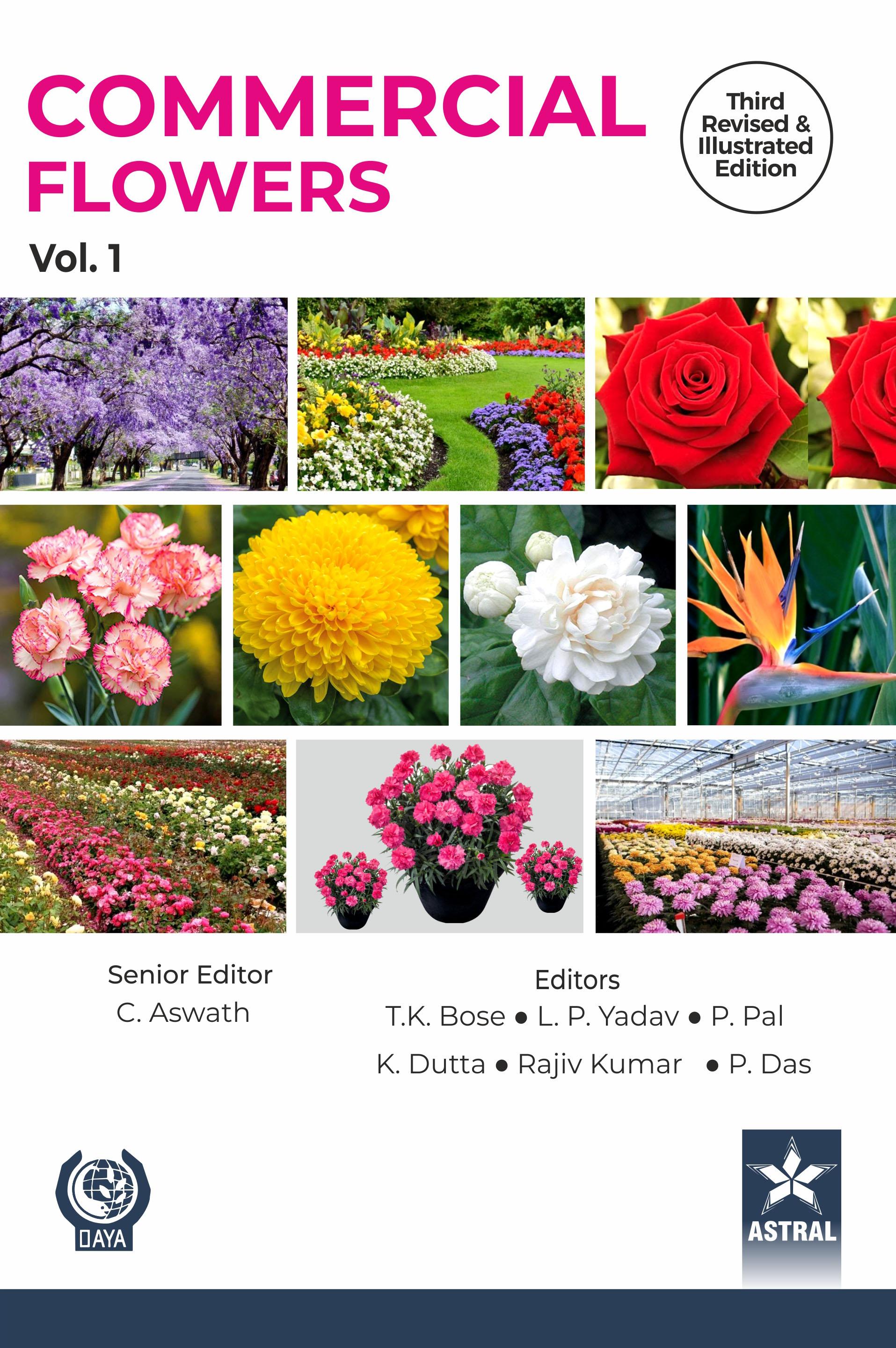Commercial Flowers Vol. 1 (Third Revised & Illustr…