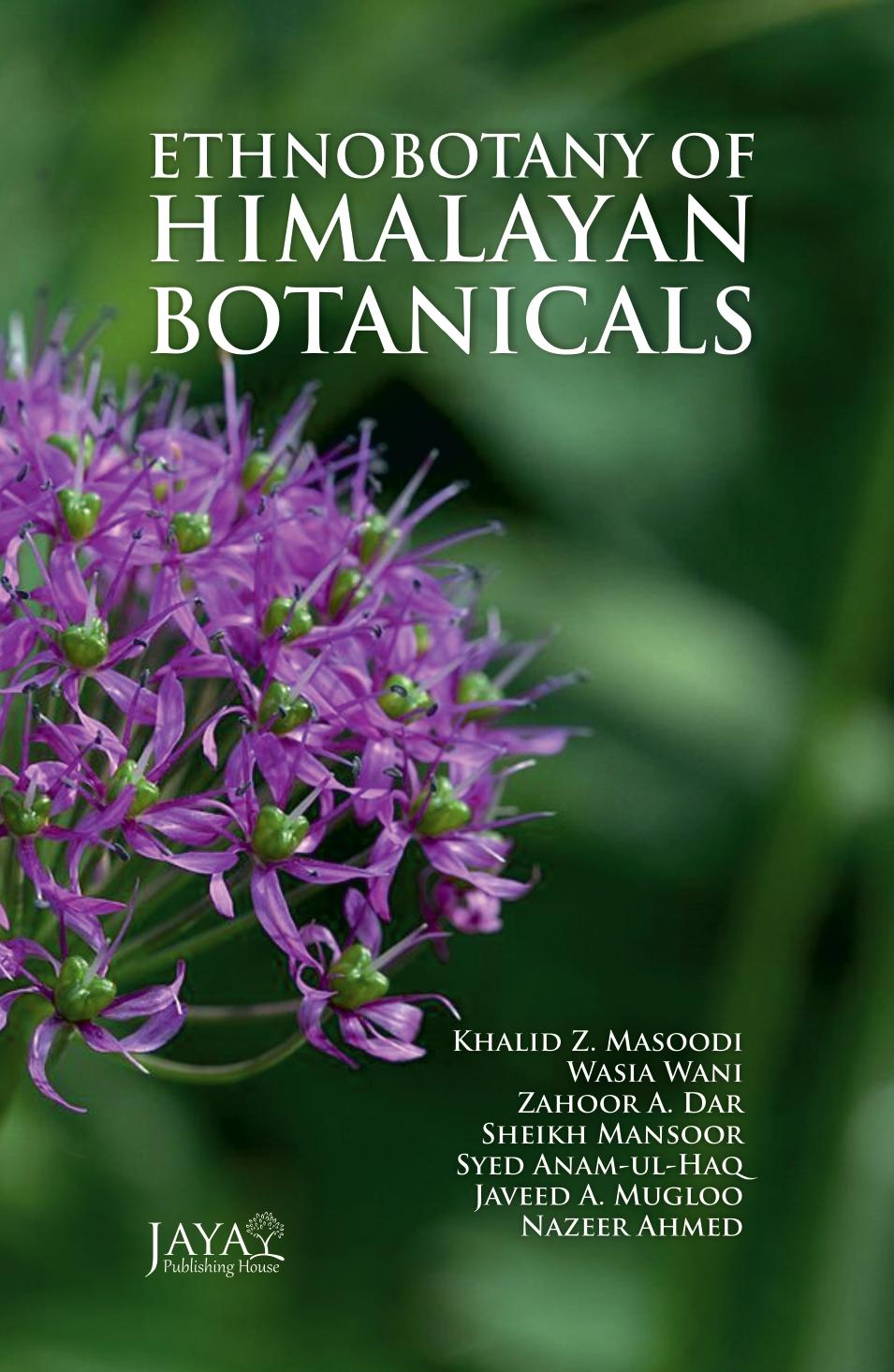 Ethnobotany of Himalayan Botanicals