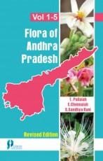 Flora of Andhra Pradesh (5 Volumes Set) (Revised E…