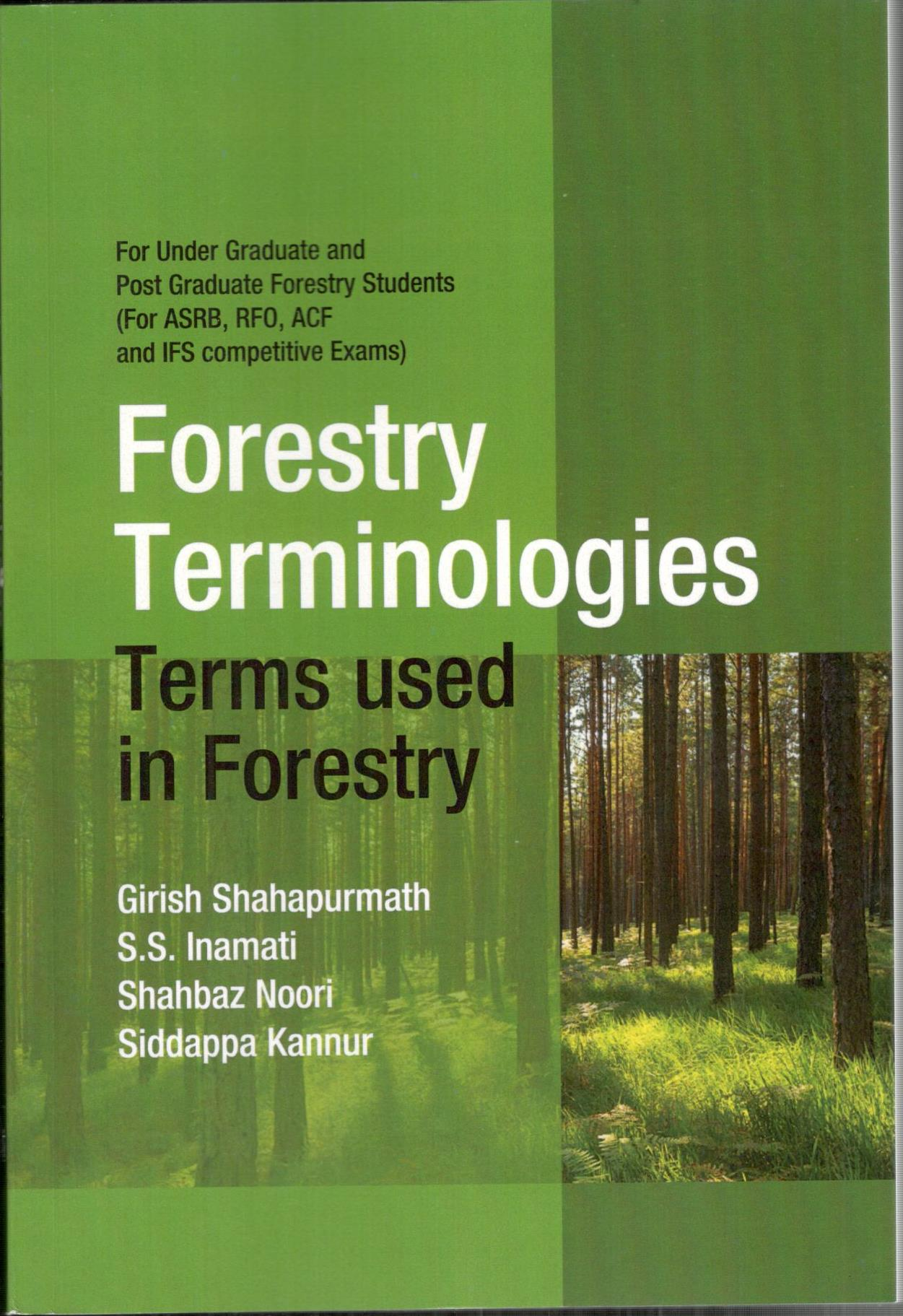 Forestry Terminologies Terms used in Forestry (Pap…