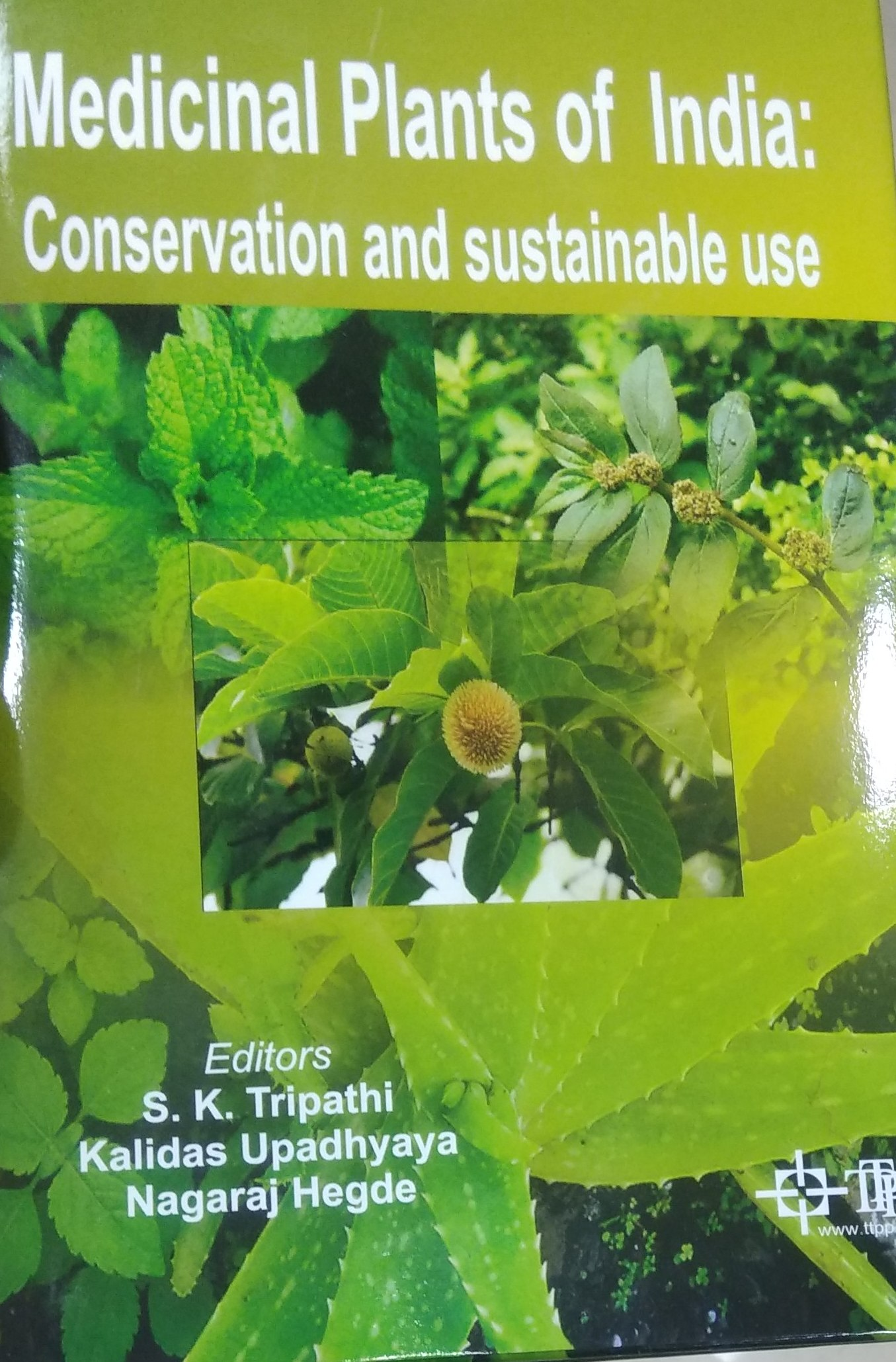 Medicinal Plants of India: Conservation and Sustai…