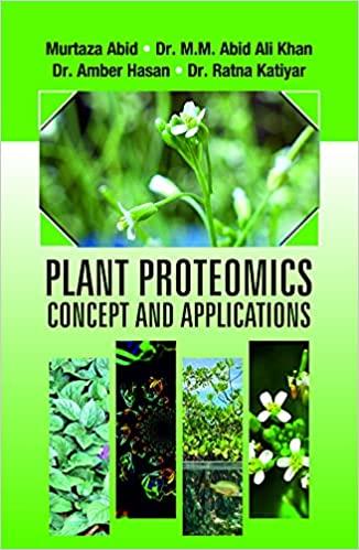 Plant Proteomics: Concept and Applications