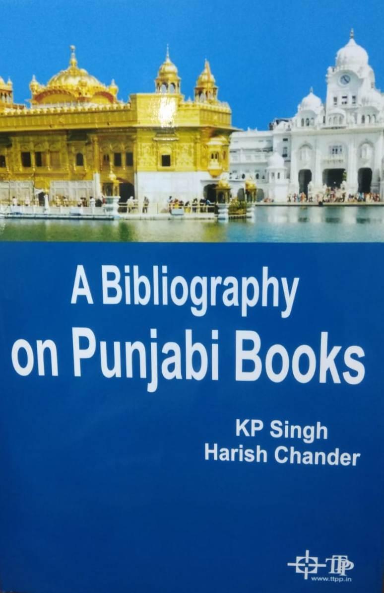 A Bibliography on Punjabi Books