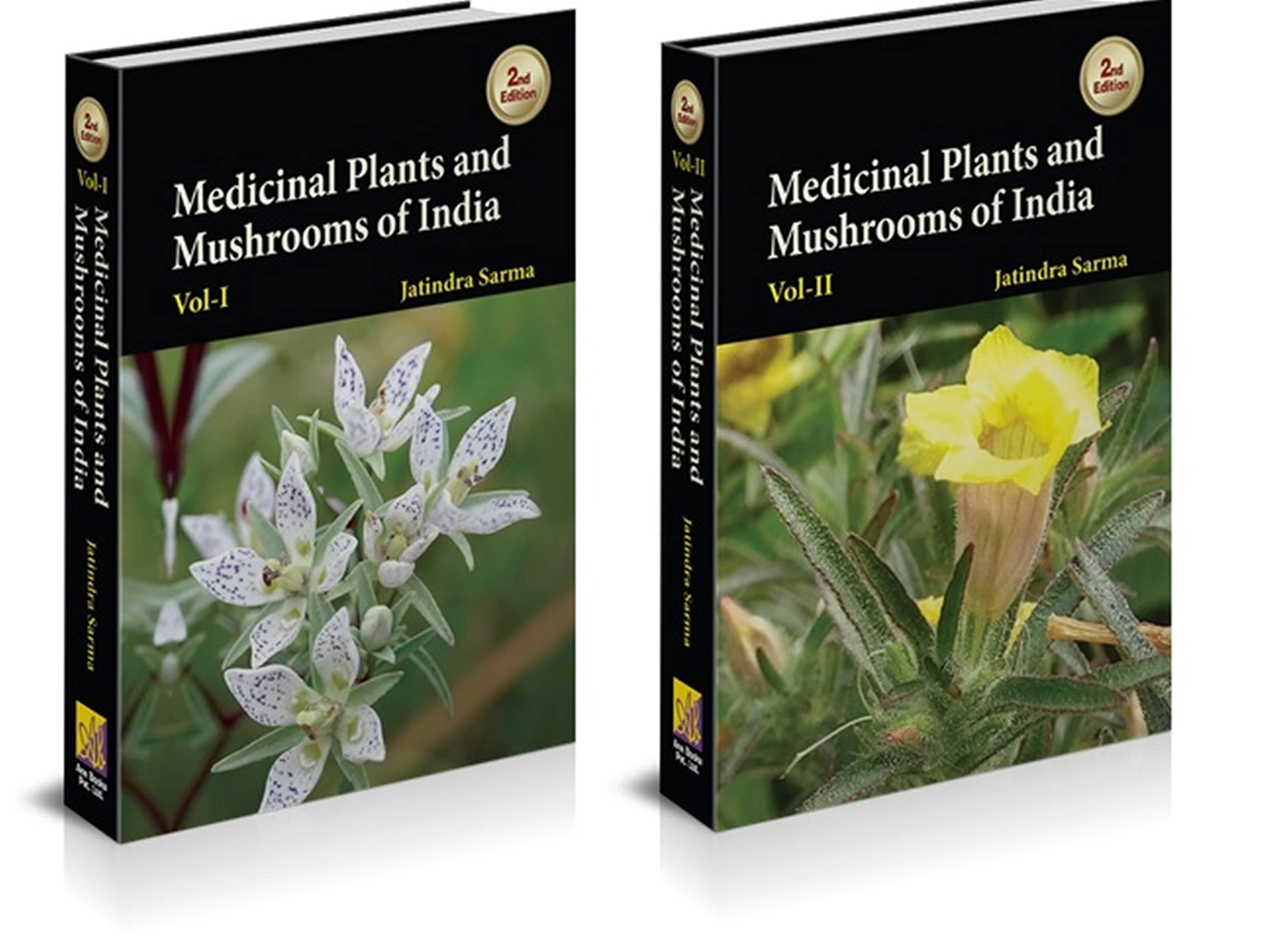 Medicinal Plants and Mushrooms of India (2 Vols)