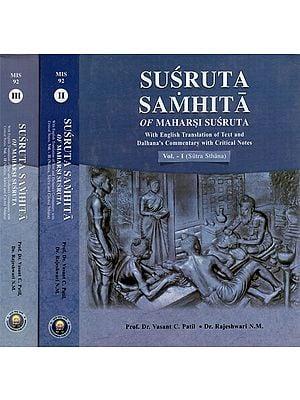 Susruta Samhita of Maharsi Susruta With English Tr…