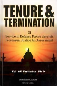 Tenure & Termination of Service in Defence Forces …