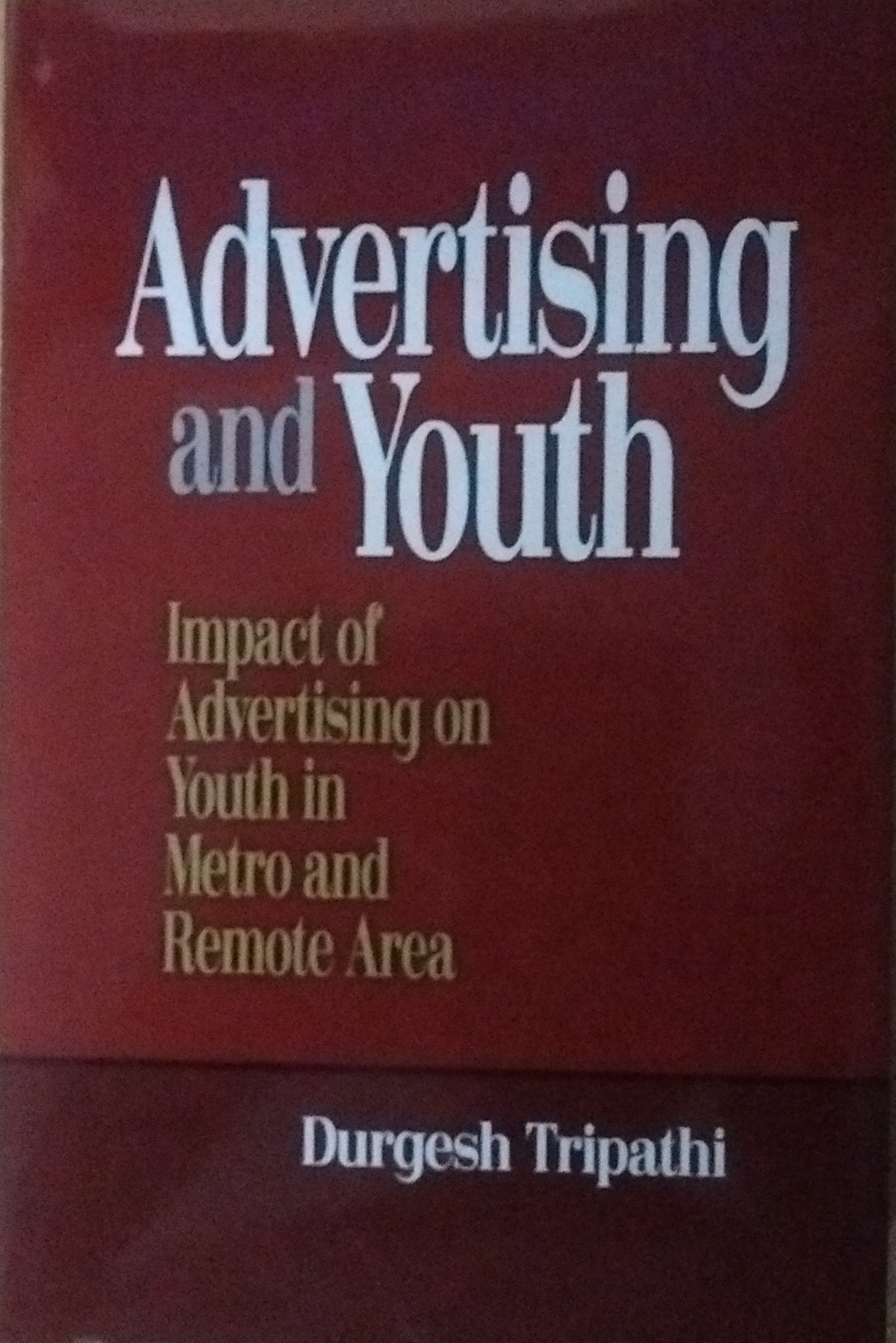 Advertising and Youth: Impact of Advertising on Yo…