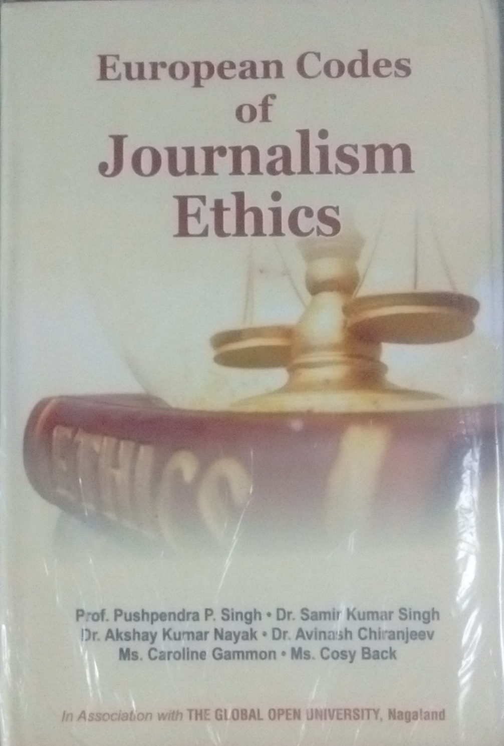 European Codes of Journalism Ethics (The Global Op…