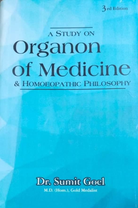 A Study on Organon of Medicine and Homoeopathic Ph…
