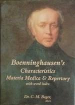 Boenninghausen's Characteristics Materia Medica & …