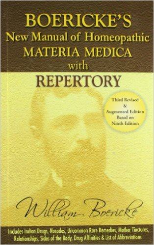 Boericke's New Manual of Homeopathic Materia Medic…