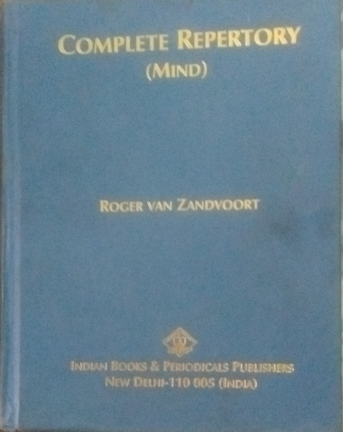 Complete Repertory 2011 (Mind)
