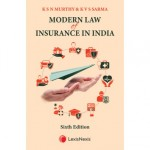 Modern Law of Insurance in India (6th Edition)