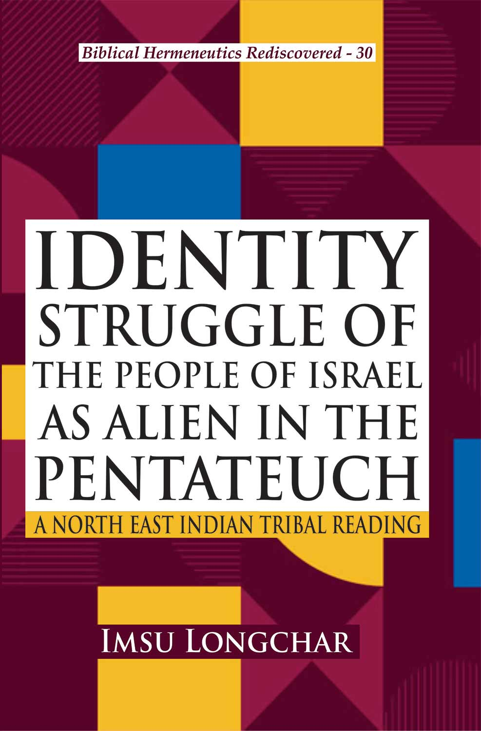 Identity Struggle of the People of Israel as Alien…