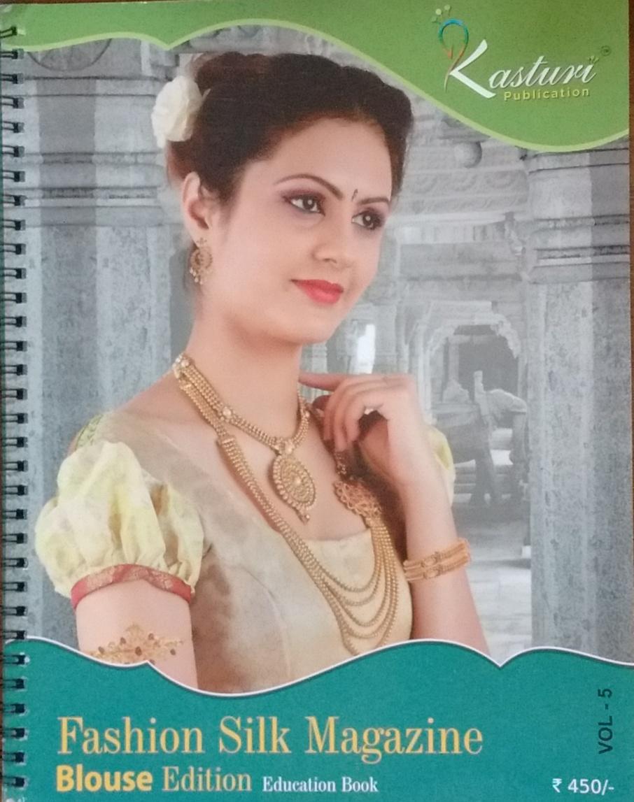 Kasturi Publication: Fashion Silk Magazine (Blouse…