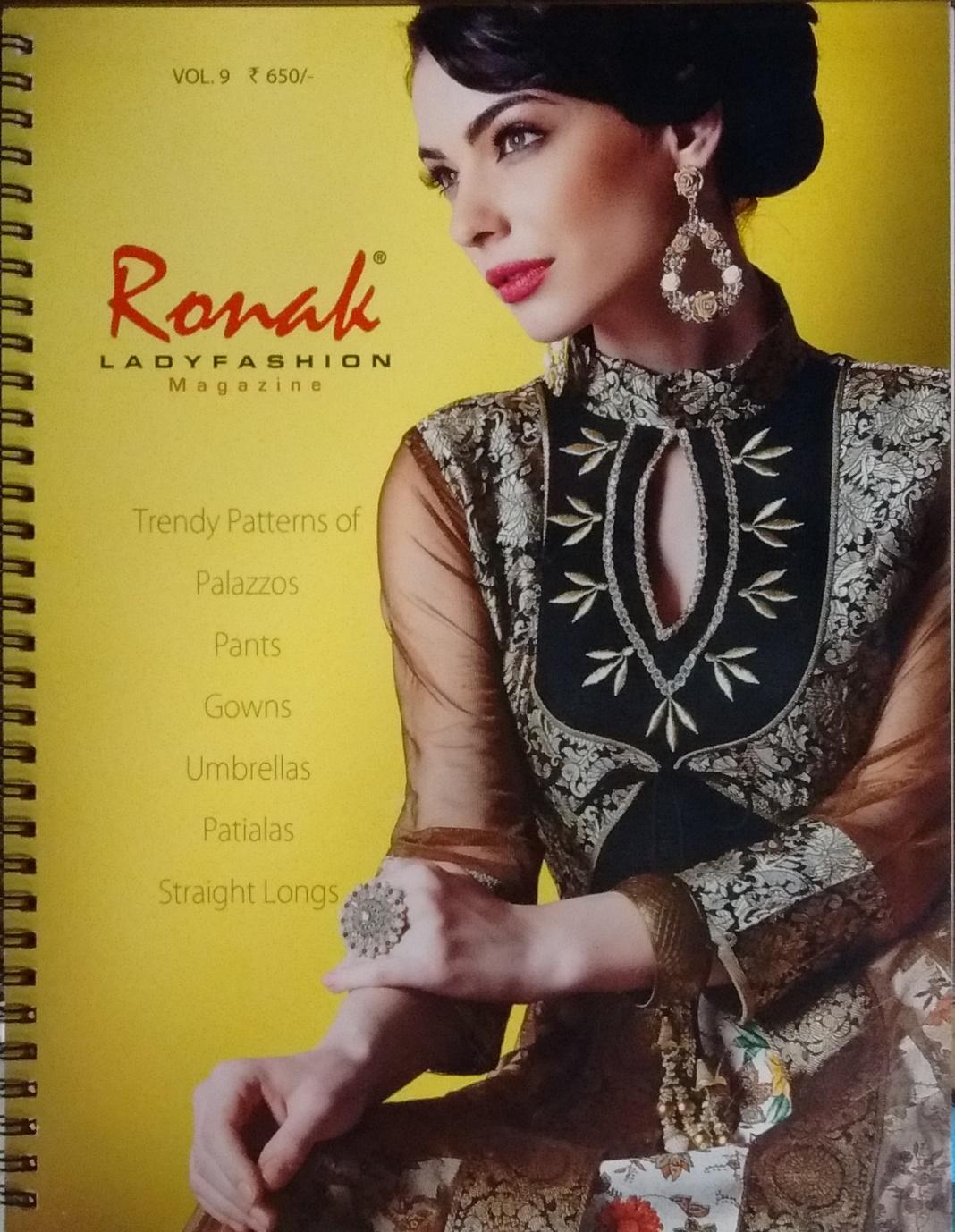 Ronak Lady Fashion Magazine: Trendy Patterns of Pa…