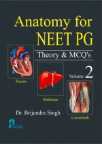 Anatomy for NEET PG Theory & MCQ (Vol-2) (Paperbac…