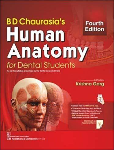 BD Chaurasia's Human Anatomy for Dental Students (…