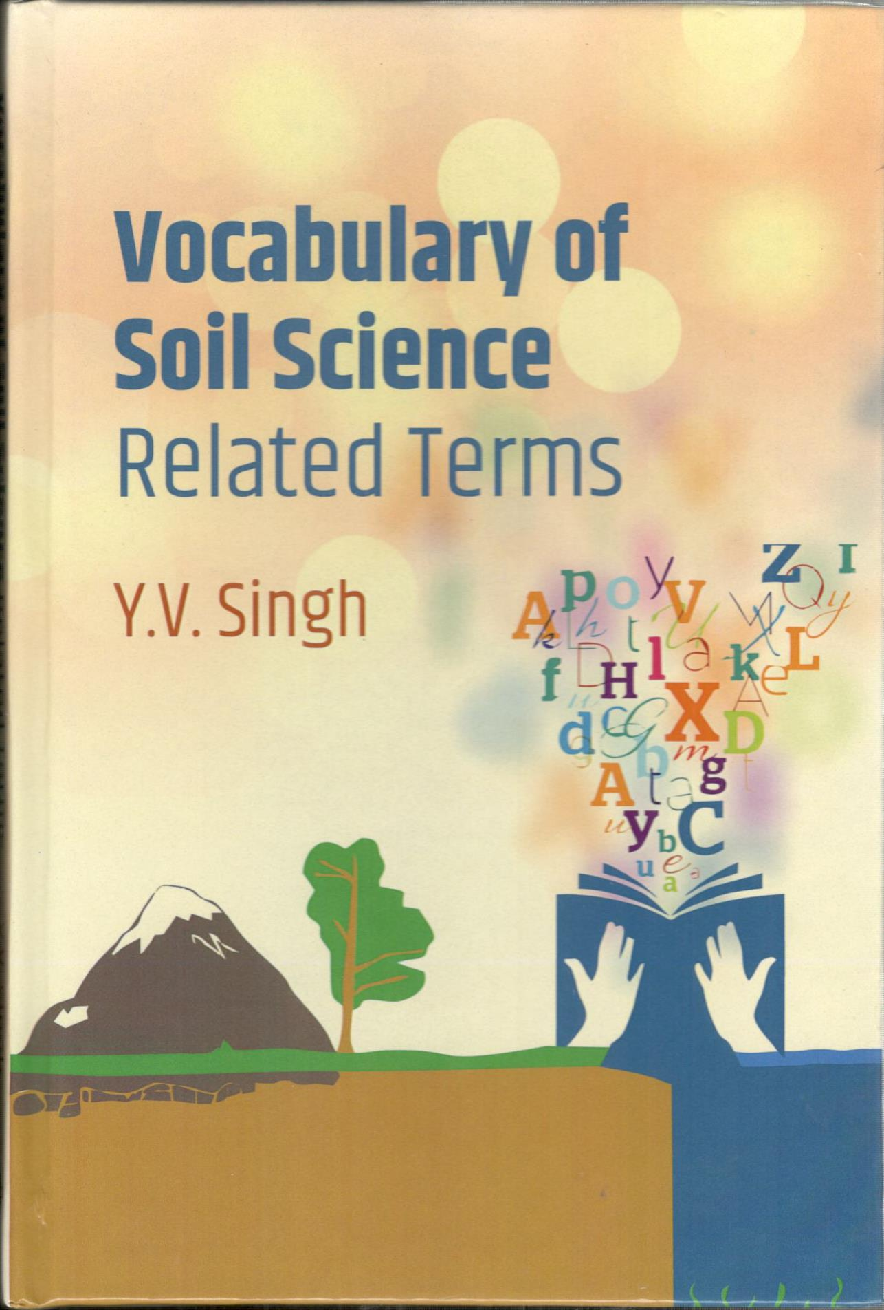 Vocabulary of Soil Science: Related Terms (Hardbac…