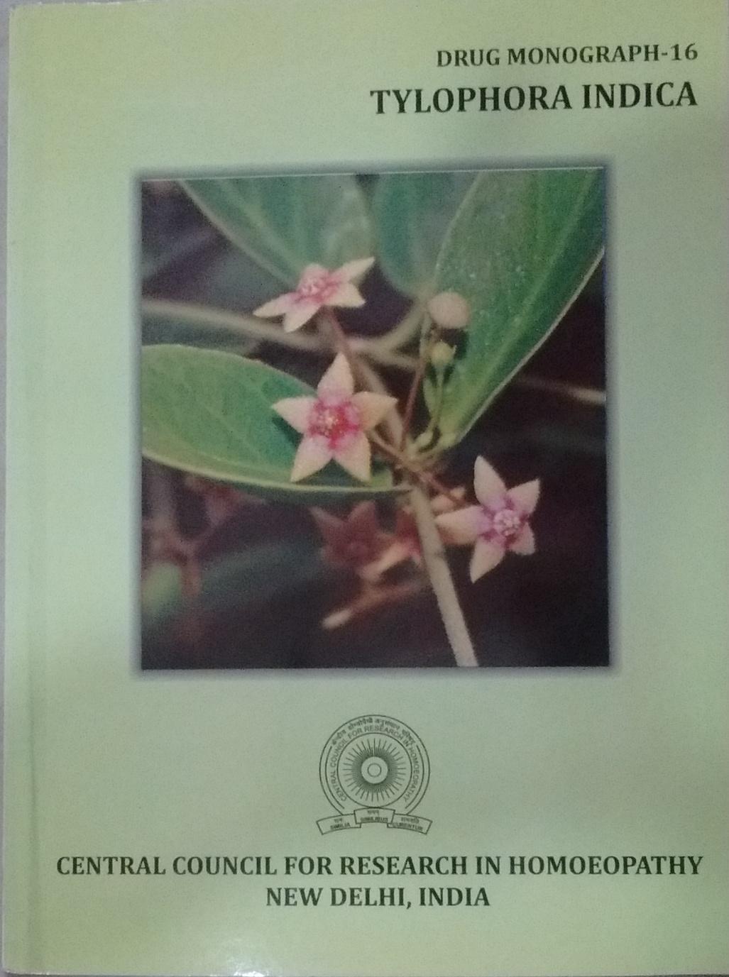 Tylophora Indica (Drug MonographNumber - 16) (Rs 6…