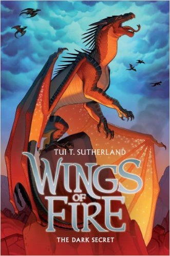 Wings of Fire: The Dark Secret )Hardbound)
