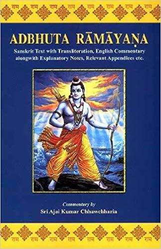 Adbhuta Ramayana of Srimad-Valmiki (Sanskrit Text …