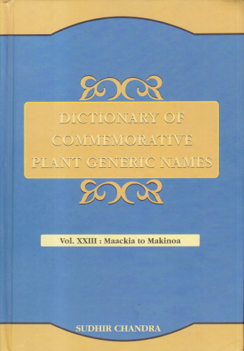 Dictionary of Commemorative Plant Generic Names: V…